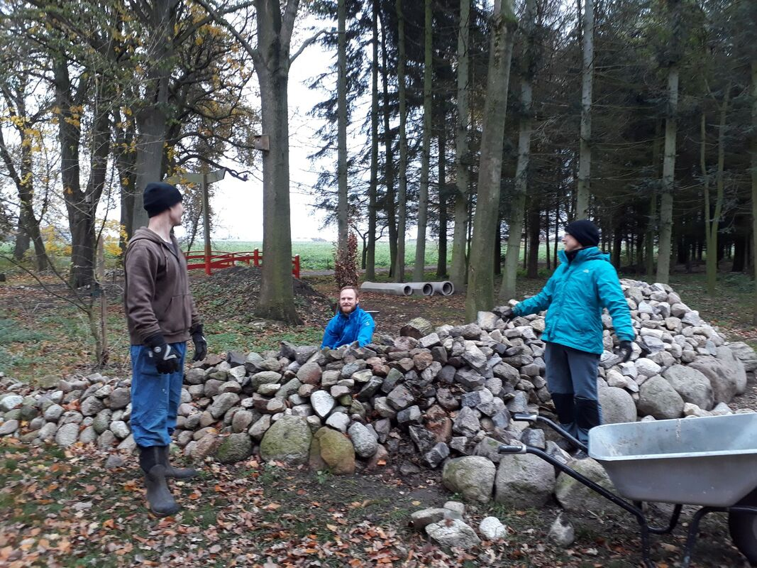 <span></span><div>moving the stone wall...</div>