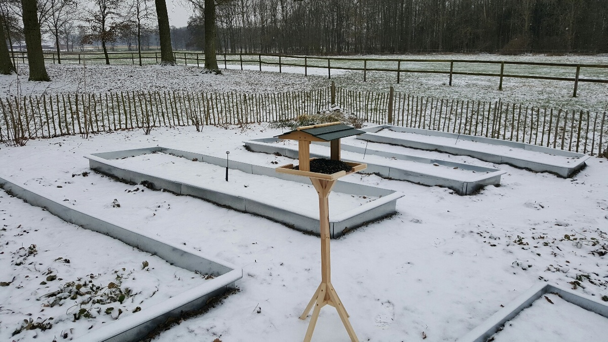 <span></span><div>Shogen´s bird feeder is great support during the winter time</div>