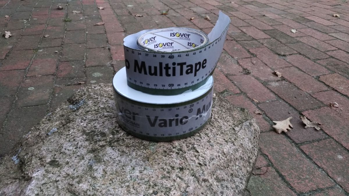 <span></span><div>Roofing tape donated by Shogen</div>