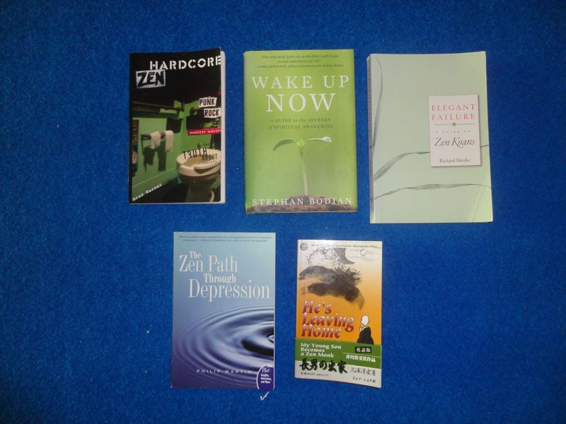 books - <span>donated by Sven</span>