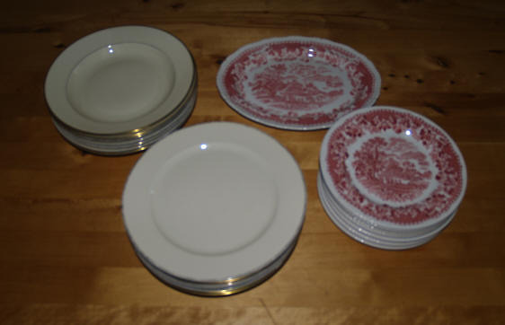 plates - <span>Donated by Hilde</span>