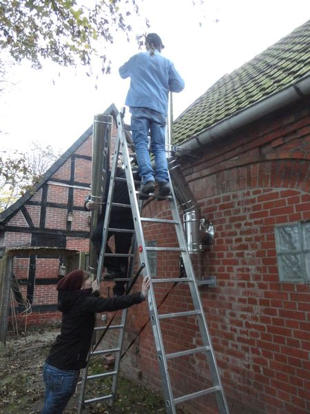Basti taking - <span>2 chimney sections</span>