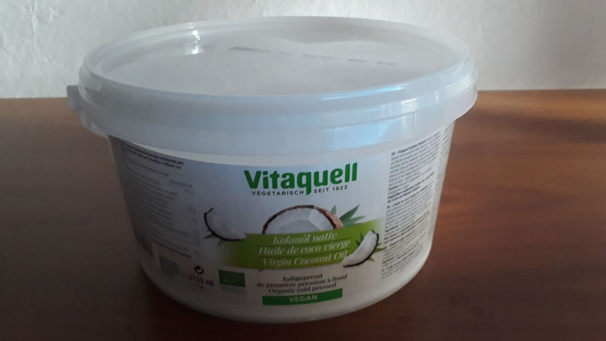 <span></span><div>Coconut oil donated by Isabelle</div>