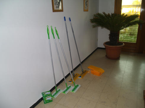 cleaning tools - <span>donated by EKAI</span>