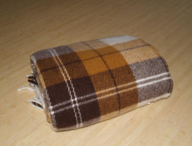woolen blanket - <span>donated by EVA RENGE</span>