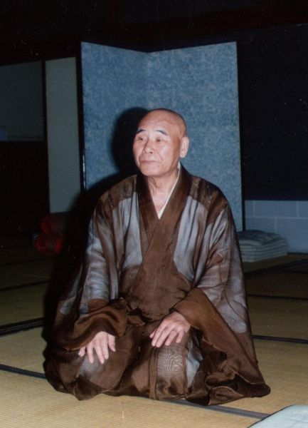 in his brown summer robe  <span></span>