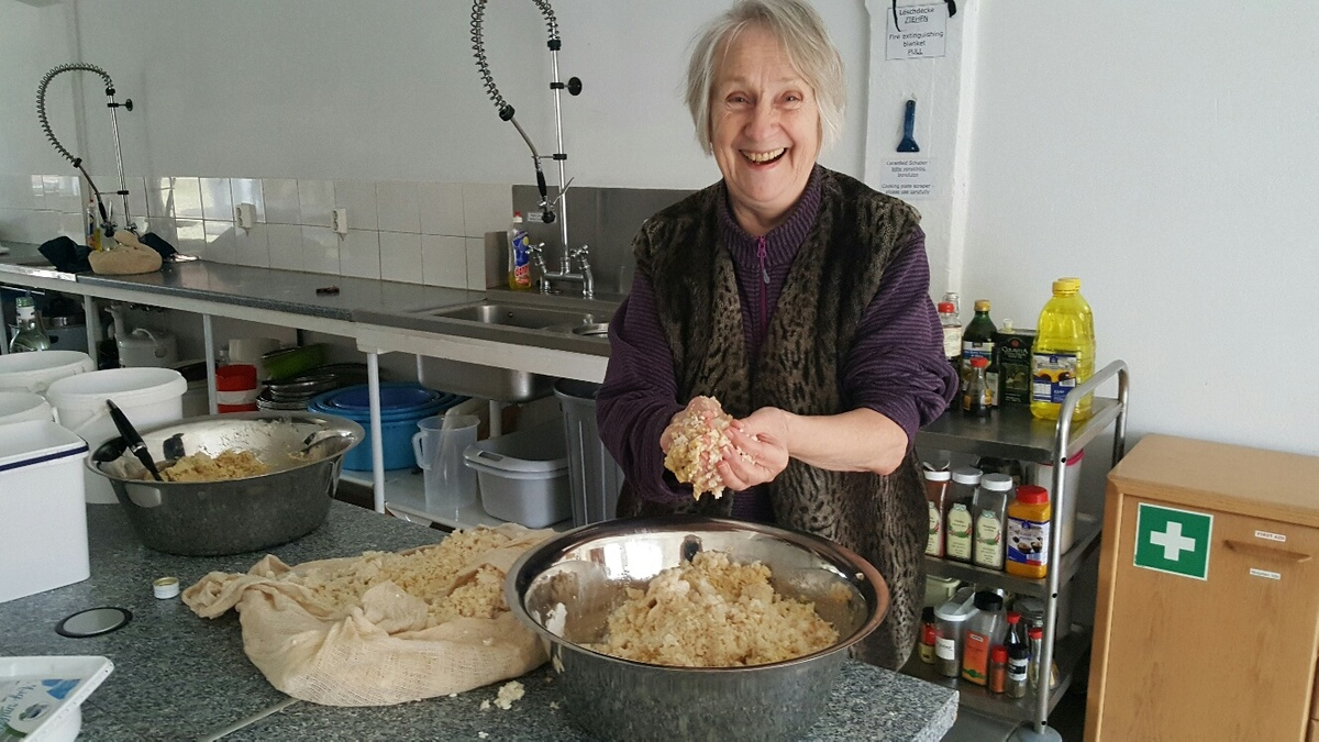 <span></span><div>Miso making with Evelin</div>