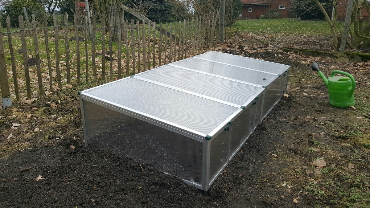 <span></span><div>Early vege bed donated by Shogen</div>