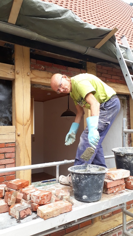 <span></span><div>...the brick laying beat</div>